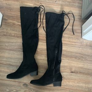 JustFab knee high boots